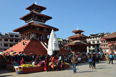 Nepal, Katmandu Durbar square . — Stock Photo