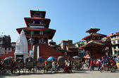 Nepal, Katmandu, Darbar square . — 图库照片