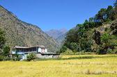 Vid foten av himalaya, nepal — Stockfoto