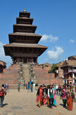 Nepal, Bhaktapur, Taumadhi square. — Stock Photo
