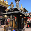 Stock Photo: Nepal Buddhist temple complex, Svаyatbudnath, Sanctuary.