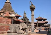 Nepal, patan, durbar square. — Stockfoto