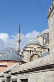 Sevärdheter i istanbul. shehzade mosque, turkiet. — Stockfoto