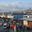 Stock Photo: Panoramof Istanbul, on shores of Bosphorus.