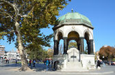 German fountain at the Hippodrome in Istanbul. — Stock Photo