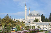 Istanbul, park next to the mosque of Sultan Selim. — Stock Photo