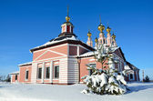 The church of Frol and Lavr in Suzdal. Golden ring of Russia. — Stock Photo