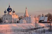 Suzdal Kremlin. Golden ring of Russia. — Stock Photo