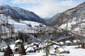 Italy, Valtournenche ski resort. — Stock Photo