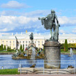 Stock Photo: St.Peterburg,fountains of Petergof.