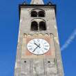 Italy, Bell tower of Cathedral of Aosta. — Stock Photo #23531419