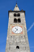 Italy, Bell tower of the Cathedral of Aosta. — Stock Photo
