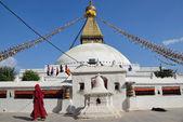 Nepal, Katmandu, Bodinath Stupa. — Stock Photo