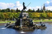 St.Peterburg,fountains of Petergof. — Stock Photo