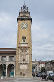 Italy, Bergamo, the square of Vittirio Veneto. — Stock Photo