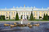 St.Peterburg, fountains of Petergof. — Stock Photo