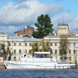 Stock Photo: Panoramof St. Petersburg. Cruises along Neva.