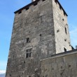 Italy, Aosta, watch towers of ancient city. — Stock Photo #23934193