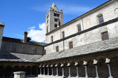 Italy, Aosta, ancient Church Peter and Urs. — Stock Photo