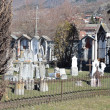 Italy, views of Aosta, medieval cemetery. — Stock Photo #23943525