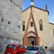 Italy, Aosta, ancient Church Peter and Urs. — Stock Photo #23980293