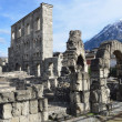 Italy, Aosta, Romaо theatre. — Stock Photo