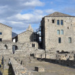 Italy, Asta, fortress towers of ancient city. — Foto de stock #23999997