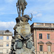 Monument to Hunter in Aosta. — Lizenzfreies Foto