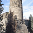 Italy, Aosta, tower of Bramafam in ancient city, 12-13 centuries. — Stock Photo #24134713