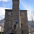 Italy, Aosta, tower of Lebbroso in ancient city, 12 century. — Stock Photo #24166127
