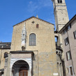 Stock Photo: One of churches of Bergamo.