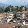 Italy, panorama of Bergamo. - Stock Photo