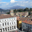 Italy, panorama of Bergamo. — Stock Photo