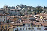 Italy, panorama of Bergamo. — Stock Photo