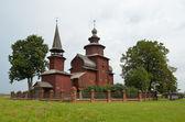 The church of Ioan Bogoslov on Ishnya in Rostov. Golden ring of Russia. — Stock Photo