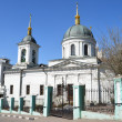 Stock Photo: Church of S.Nikolay in Kotelniky in Moscow.