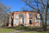 Uspenskaya church ( ruined) in Peter and Paul monastery in the town of Yuryev-Polsky — Foto de Stock