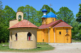 Adygeya, Pobeda village, Mikhailo-Athonite monastery. — Stock Photo