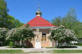 Adygeya, Pobeda village, Mikhailo-Athonite monastery. — Stock Photo