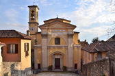 Italien, den medeltida kyrkan i bergamo. — Stockfoto