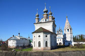 Micael-Arhangelskiy monastery in the town of Yuriev-Polsky. Golden ring of Russia. — Stock Photo