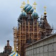 Stock Photo: Restoration of monastery Solbinskaypustin, Russia