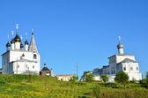 Svyato-troitsky nikolsky (kutsal üçlü nicholas) manastırı gorokhovets şehirde pudjalova dağı'nda. rusya'nın altın yüzük. — Stok fotoğraf