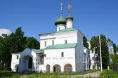 Jarosław, kościół narodzenia pańskiego, rok 1644. złoty pierścień rosji. — Zdjęcie stockowe