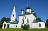 L'église de nicola rublennny à iaroslavl, année 1695. anneau d'or de la russie. — Photo