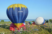 The annual Festival of ballooning Golden ring of Russia in pereslavl-Zalessky. — Stockfoto