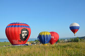 The annual Festival of ballooning Golden ring of Russia in pereslavl-Zalessky. — Stok fotoğraf
