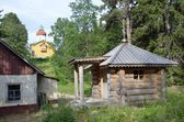 Solovki, Svyato-Voznesensky monastery on Mount Sekirnaya — Stock Photo
