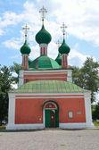 La chiesa di alexander nevsky, sulla piazza rossa pereslavl zalesskij, golden ring della russia. — Foto Stock