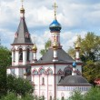 Foto de Stock  : Znamenskaychurch in Pereslavl Zalessky,Golden ring of Russia.